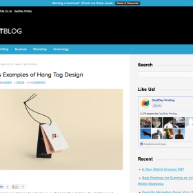 10 Fabulous Examples of Hang Tag Design