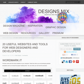 20 Useful websites and tools for web designers and developers