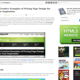 40 Creative Examples of Pricing Page Design for Your Inspiration